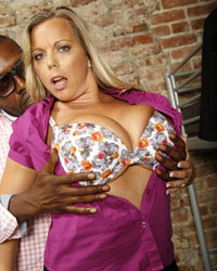 Amber Lynn Bach Blacks On Blondes Collection