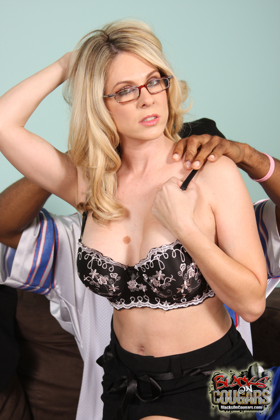 Angela Attison By Blacks On Cougars