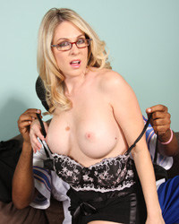 Angela Attison - Alpha white female is submissive to a black cock drilling inside her ass
