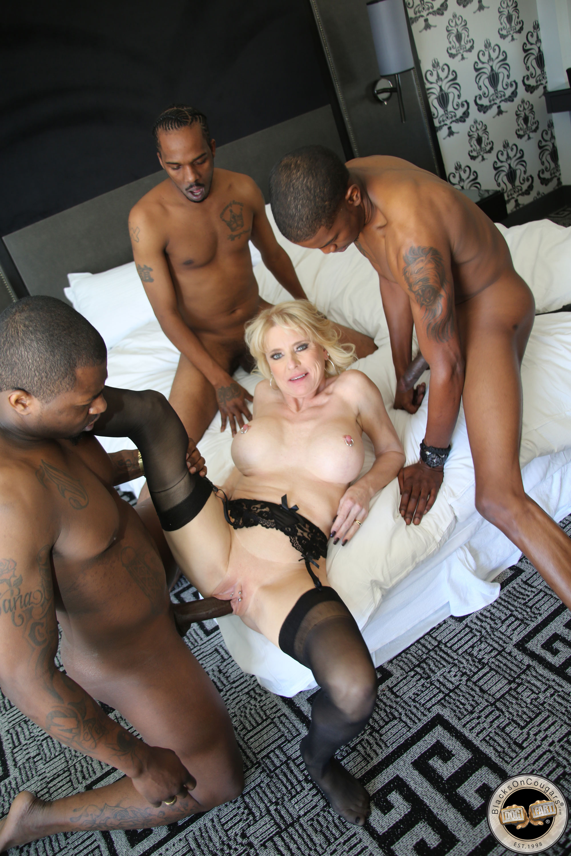 Blacks and cougars porn