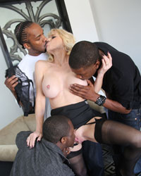 Cammille Interracial Gangbang Story