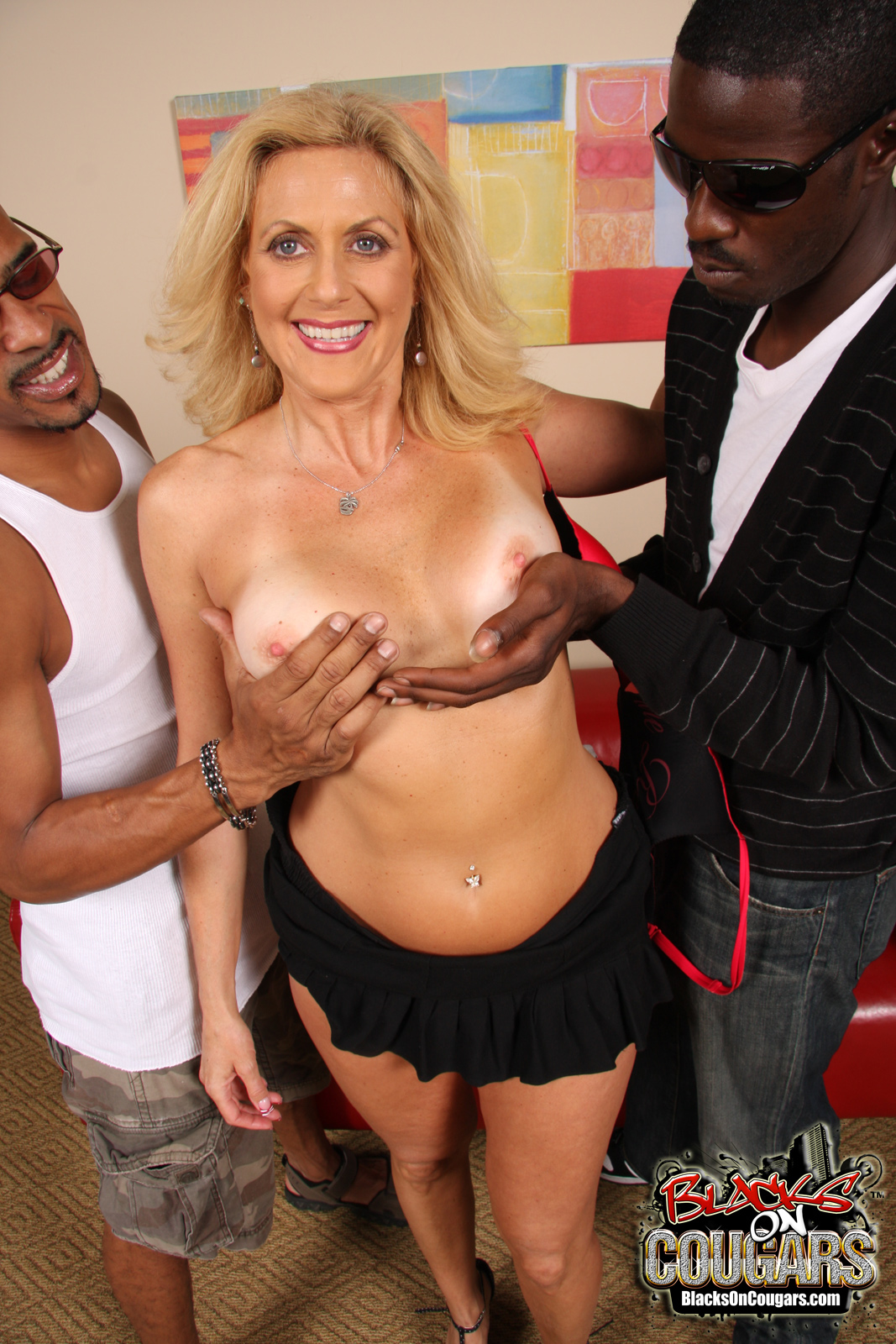 best cougar interracial