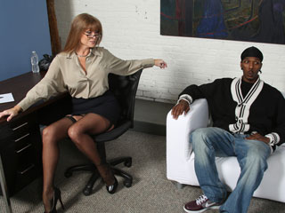 Darla Crane 12 Inch Black Dick