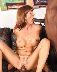 Desi Foxx - 2  blacks fuck Cougar MILF to avoid eviction
