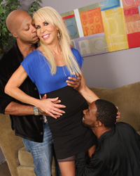 Interracial Gangbang Sex Erica Lauren