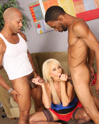 Erica Lauren Blacks On Blondes Creampie