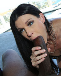 India Summer Melanie Jagger Blacks On Blondes