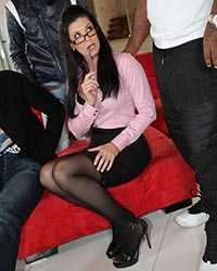 India Summer's Third Appearance Blondes Black Dick