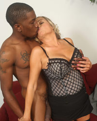 Lexxi Lash Huge Black Dick