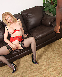 Nina Hartley Bib Black Cock