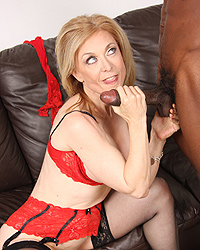 Nina Hartley Erect Black Cock