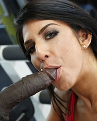 Raven Hart Massive Black Dick