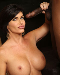 Shay Fox Riding Black Dick