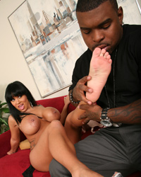 Sienna West Mandingo Interracial