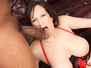 Stephanie Wylde Black Dick Gagging
