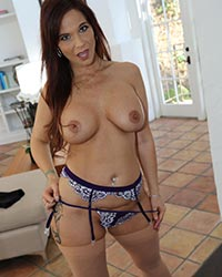 Syren DeMer's Second Appearance Black Dick Gagging
