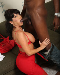 Tara Holiday Black Cock Fucks